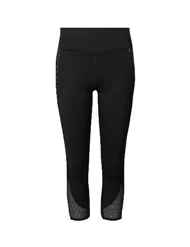 77 Ex Marks and Spencer Collection Womens Cropped Sport Gym Leggings Size 8-16