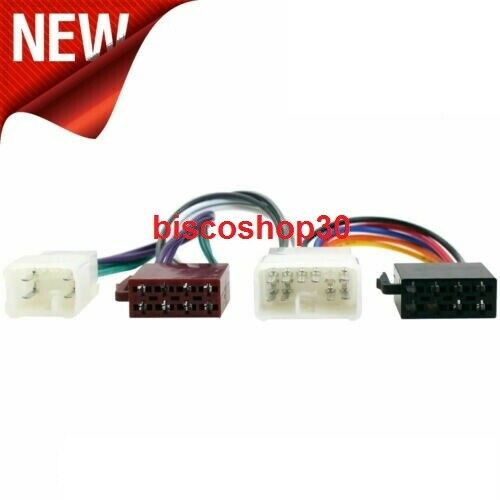 TOYOTA YARIS WIRING LOOM FOR NON FACTAORY RADIO TO ISO CT20TY01 NEW