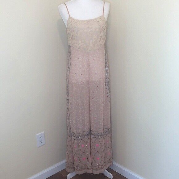 Free people whimsical wide leg jumpsuit fairycore - image 5