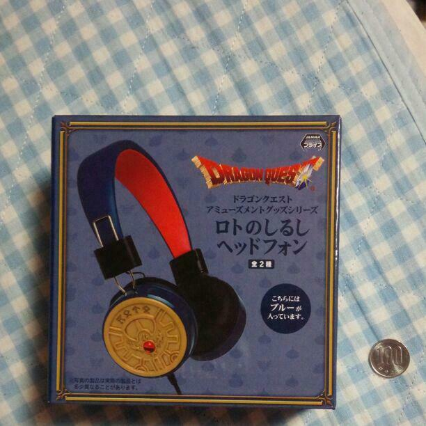 Dragon Quest Head Phone Emblem of Roto Blau Amusement goods Prize products F S