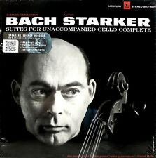 BACH - THE CELLO SUITES - JANOS STARKER - MERCURY - SR3-9016 - 3 LP BOX