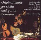 Original Music for Violin and Guitar: Virtuoso Pieces (CD, Mar-2002, EMEC (Editorial de Musica Espanola))
