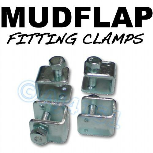 Mud Flap Mudflap Fitting Fixing U Clamps 4 Renault