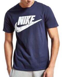Graphic Xl Navy Nike T Print Classic Men's Size shirt 5xqUR