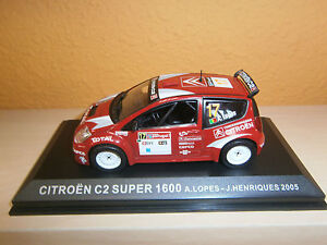 1-43-CITROEN-C2-SUPER-1600-rallye-de-portugal-2005