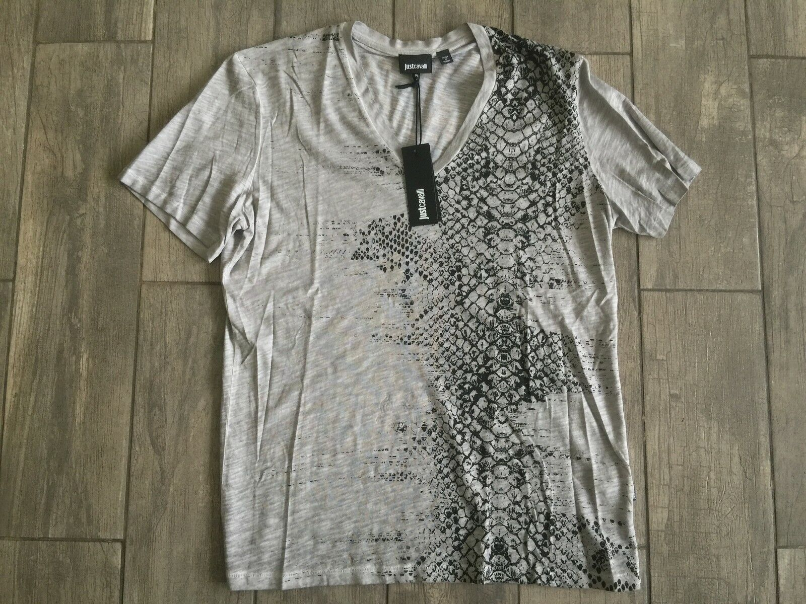 JUST CAVALLI  Herren T-Shirt Short Sleeve New Collection S01GC0243G New With Tags