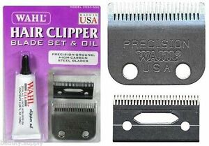 Wahl-2050-500-Replacement-Blades-For-Precision-Hair-Clipper-Oil-Screws-Trimmer