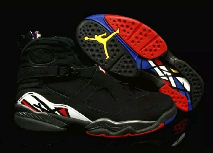 Raro nike jordan retro - viii 8 scarpe di cuoio noi 305381 061