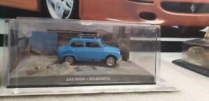EAGLEMOSS-James-Bond-007-ZAZ-965A-Azul-Pintura-escala-1-43-modelo-de-coche