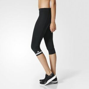 6f2c562f2f64df NWT Womens New Leggings Adidas XS Black Stella McCartney Miracle ...