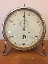 Vintage Pye Cambridge Wind-up Bakelite Stop Clock Timer on Adjustable Stand #3
