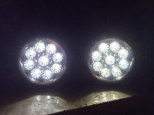 LED Front Fog Lights Lamps Ford Fiesta Mk6 Mk7