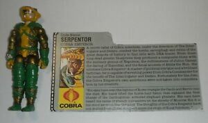 1986-GI-Joe-Cobra-Emperor-Serpentor-v1-Loose-Snake-Action-Figure-w-File-Card
