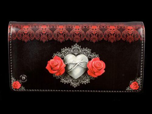 Geldbörse mit Gothic Engel geprägt Anne Stokes Geldbeutel Only Love Remains