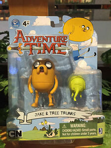 Adventure-Time-JAKE-amp-TREE-TRUNKS-3-034-Figures-Toys-w-ACCESSORIES-New-ON-CARD
