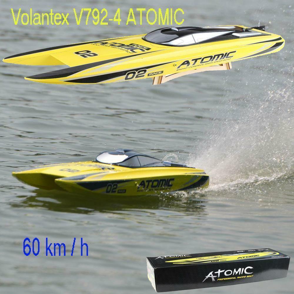 Volantex 70cm RC RADIO REMOTE CONTROL TWIN  PROPELLER DEEP SEA PATROL OCEAN BOAT  vanno a ruba