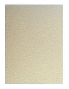 100 X Zander Zeta Martello Texture Panna Avorio A4 Carta 100GSM Incisa Filigrana
