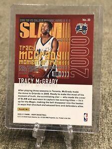 2020-21 NBA Hoops Tracy McGrady Orlando Magic SLAM Magazine 🔥🔥