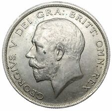 1917 HALFCROWN - GEORGE V BRITISH SILVER COIN - V NICE