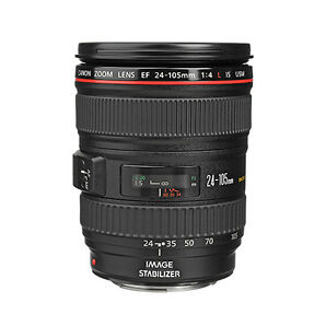 Canon Ef 24-105mm F/4l Is Usm Autofocus Lens For Canon Eos Slr