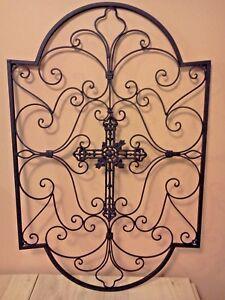 Spanish Arch Garden Metal Wall Art
