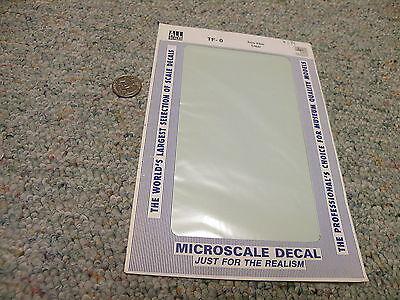 Microscale  decals 1//72 1//48 1//32 TF-22 Trim film Royal Blue FS10556   C33