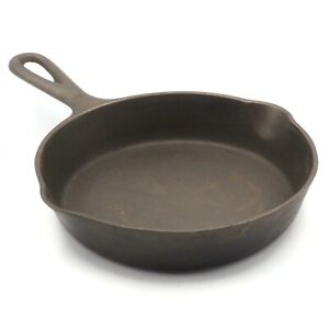 Vintage-6-1-2-034-Wagner-Ware-Sidney-0-3E-Cast-Iron-Skillet-Fry-Pan