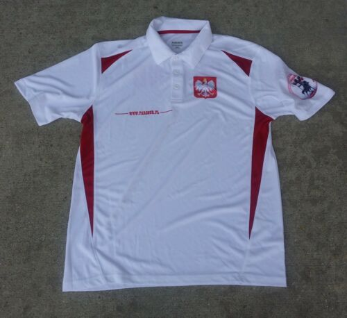 SIZE ADULT LARGE NEW WIT TAG Poland POLO SHIRT UNIQUE HUNTING CLUB