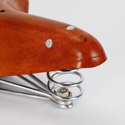 Vintage Real Leather Bicycle Saddle SADDLES Retro Bicycle Seat Saddle Leather Saddle DHL