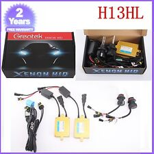 55W HID BI-XENON Conversion KIT DUAL BEAM Hi & Low H13 6000K 6K BALLASTS 3200LM