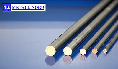 5cm Edelstahl Rundstab VA V2A 1.4301 blank h9 /Ø 80 mm L: 50mm Zuschnitt