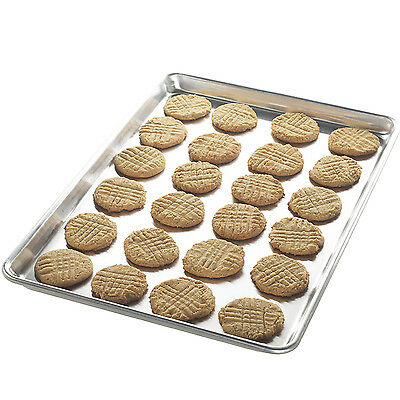 New Extra Large Aluminum Cookie Sheet Baking Pan Bars XL