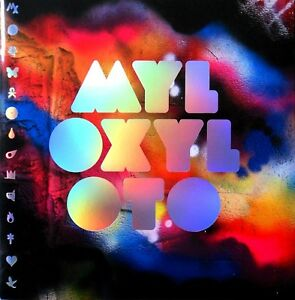 COLDPLAY-2011-2012-MYLO-XYLOTO-TOUR-CONCERT-PROGRAM-BOOK-BOOKLET-NMT-2-MINT
