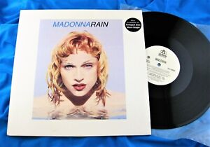 Madonna rain single cover
