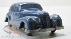 WIKING-190-1-C-BMW-501-Limousine-in-azurblau-Massstab-1-87-unverglast