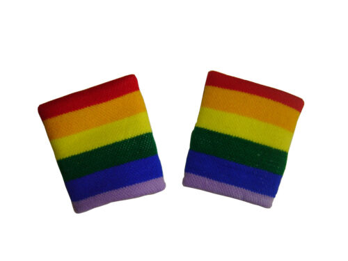 2 PULSERAS ARCO EN CIELO GAY España no bufanda bandera camiseta banderin gorra