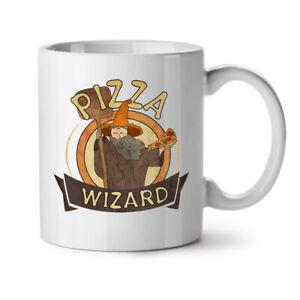 Pizza Food Wizard NEW White Tea Coffee Mug 11 oz | Wellcoda