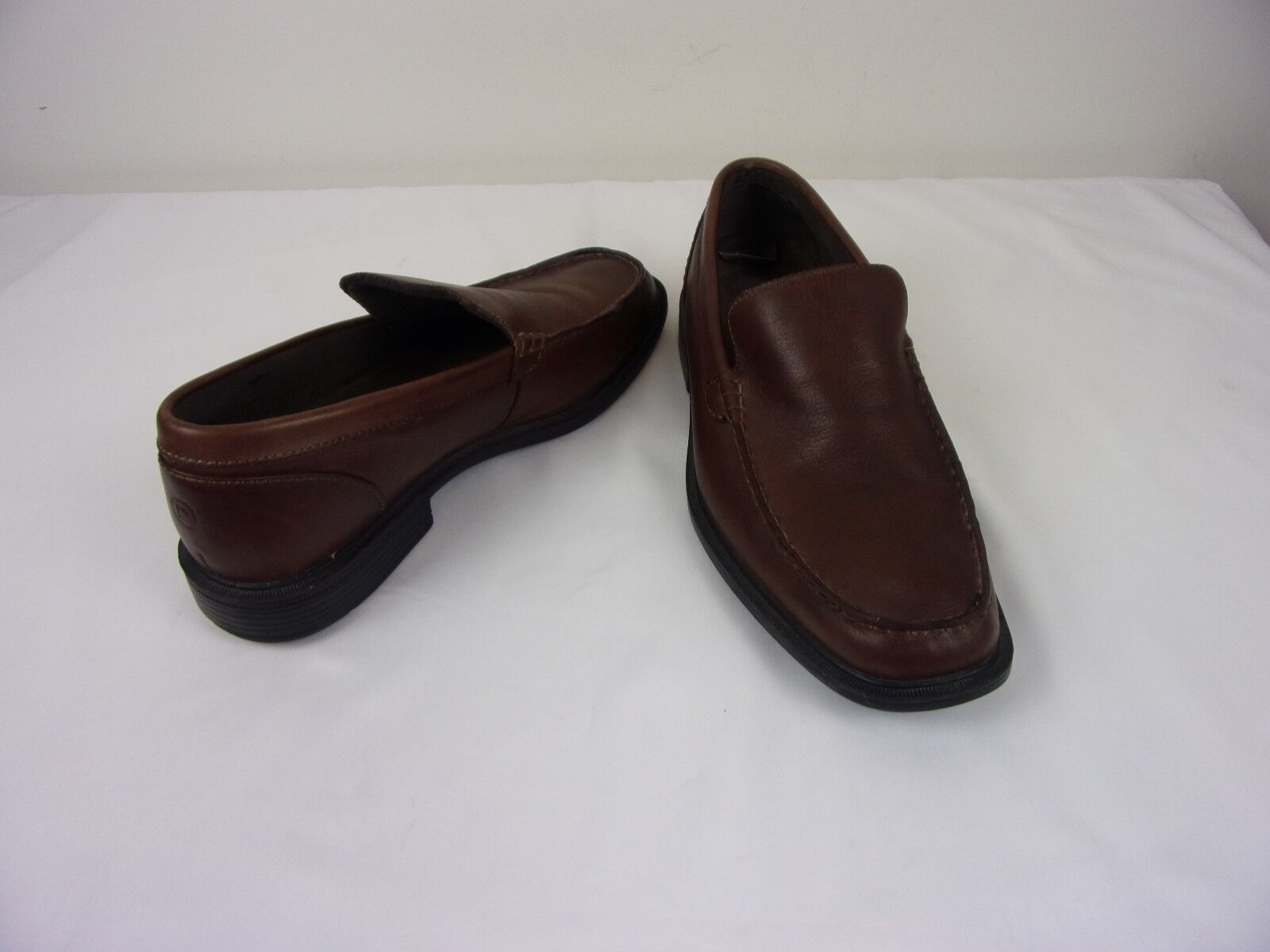 Rockport LEATHER Slip On Loafers 8M    SIZE: 8M Loafers    BROWN bab550