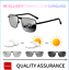 Mens-Photochromic-Sunglasses-Polarized-Transition-Lens-Driving-Fishing-Glasses thumbnail 1