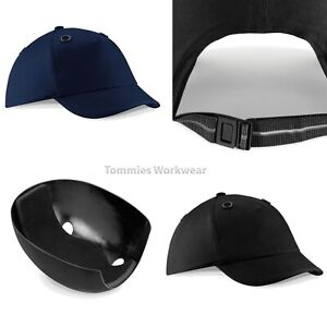 select for best shop for variety of designs and colors Details about Beechfield EN812 Bump Cap Safety Baseball WorkHat PPE Head  Protection (B525)