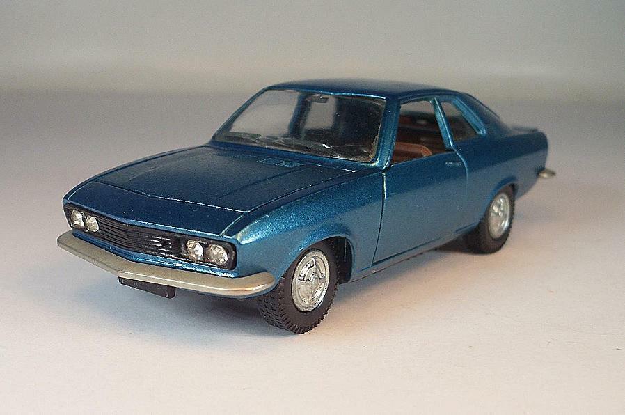 alta calidad Auto Pilen 1 43 nº 345 Opel Manta Manta Manta Coupe metalizado azul  6781  tienda en linea