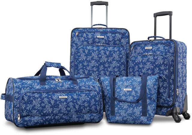 American Tourister Fieldbrook XLT 4 Piece Softside Luggage Set