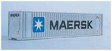 Walthers N Scale 40' Hi-Cube Intermodal Shipping Container Maersk