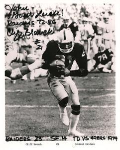 3x-Super-Bowl-Champion-Cliff-Branch-Autograph-Signed-Oakland-Raiders-Photo