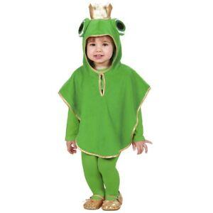 Kinder Frosch Kostum Karneval Jungen Madchen Marchen Tier Poncho