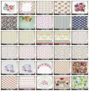 Shabby-Chic-Curtains-2-Panel-Set-Decor-5-Sizes-Available-Window-Drapes