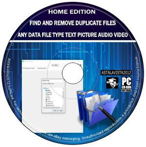 Duplicate Files Clones Repeats Remover - Free Space PC cleaner & Error Fix CD -