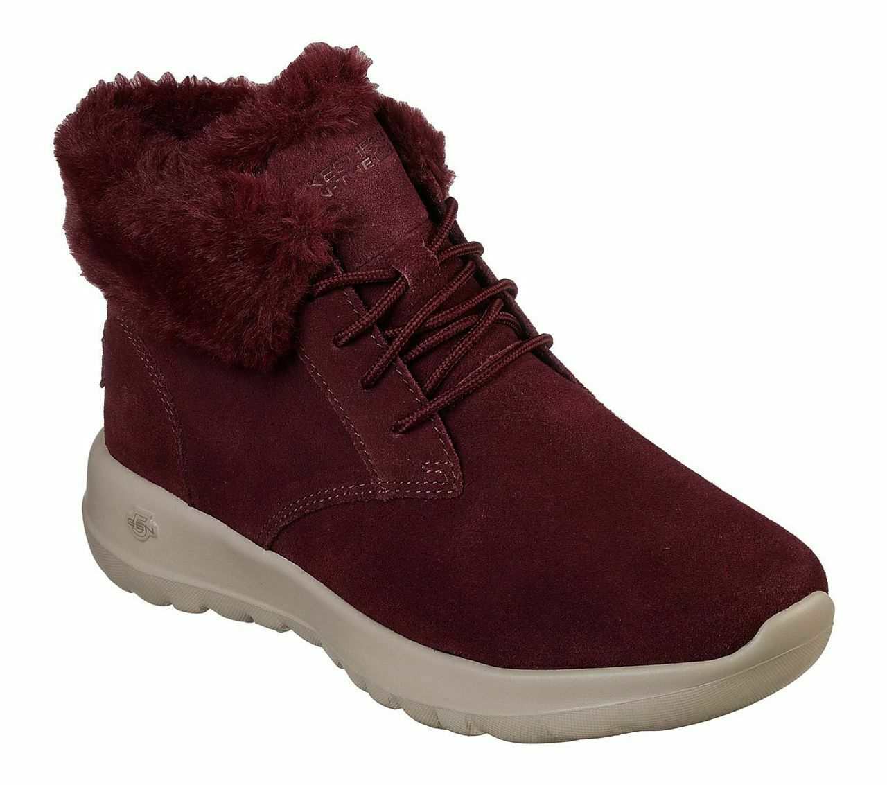 Skechers O-T-G damen Stiefel ON-THE-GO JOY LUSH WinterStiefel gefüttert Rot