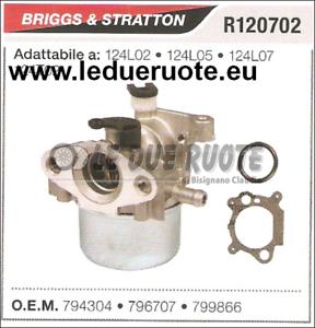 799866 Cocheburador a Tanque Briggs & Stratton 124T02 124L02 124L05