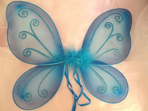 """1 piece 15/"""" Fairy Angel Butterfly Wings Toddler Child Costume TOY GIFT HW-8"""